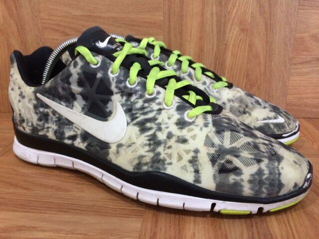 Nike Free TR Fit 3 PRT Lunar Smoke Cheetah Print Sz 7 555159