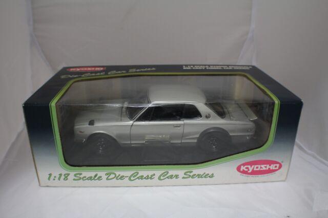 1-18 Kyosho Nissan Skyline 2000 GT-R (KPGC10)Silver  item #081215