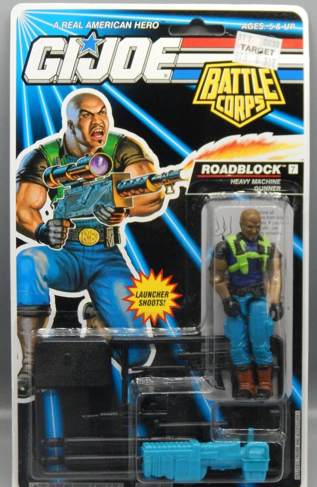 Vintage 1993 Hasbro GI Joe battaglia Corps stradaBLOCK azione cifra MOC giocattolo SEALED