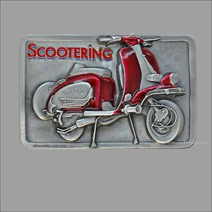 Classic Motor Roller Roller Buckle Belt adorno en la cintura motor-scooter * 203