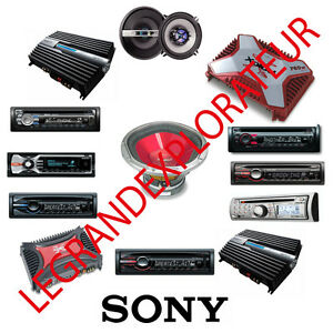 ultimate sony car radio repair service manuals cdc cdx mdx mex xm xr image is loading ultimate sony car radio repair service manuals cdc
