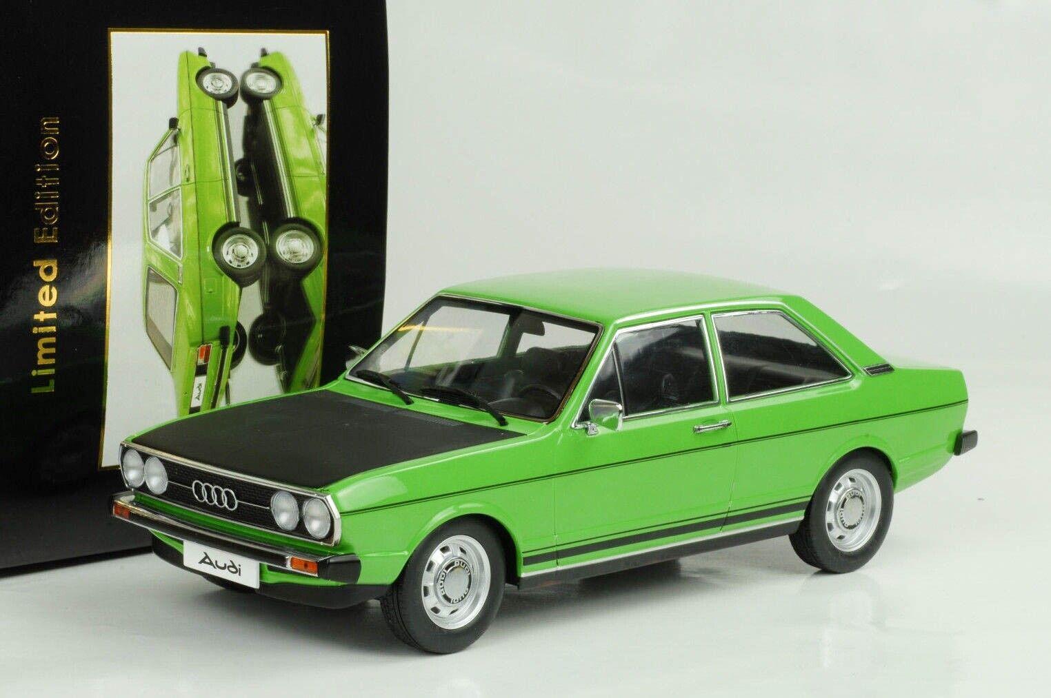 1975 1978 audi b1 80 gte verde nero campana 1 18 KK DIECAST