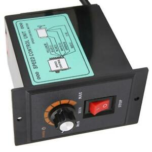 Ac Motor Speed Controller Switch for Various Speed Control Drive Devices 400w Ac 220v Motor Speed Controller