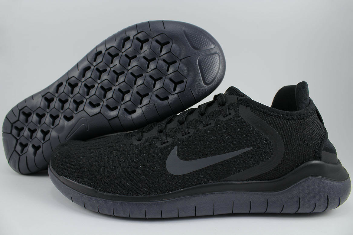 NIKE FREE RUN 2018 noir /ANTHRACITE DARK gris RUNNING RN FLEX KNIT US femmes SIZE
