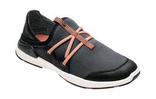 Olukai 20366 Miki Miki Miki Li Women's Slip On shoes Pavement Black Size 7 US (M) c25321