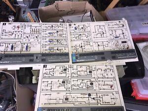 Heathkit ETB 6103 Educational Semiconductor Test Board Full Set of 3 & Manual