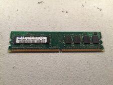 SAMSUNG 1GB 1Rx8 PC2-5300U-555-12-ZZ M378T2863DZS-CE6