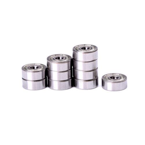 10pcs 4 x 13 x 5mm Shielded Micro Mini Small Wheel Ball Bearings 624Z  HP