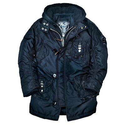 Alpha Industries Cobbs II Winterjacke black Size M