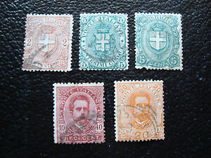 Italy-Stamp-Yvert-and-Tellier-N-56-A-60-Obl-A11-Stamp-Italy
