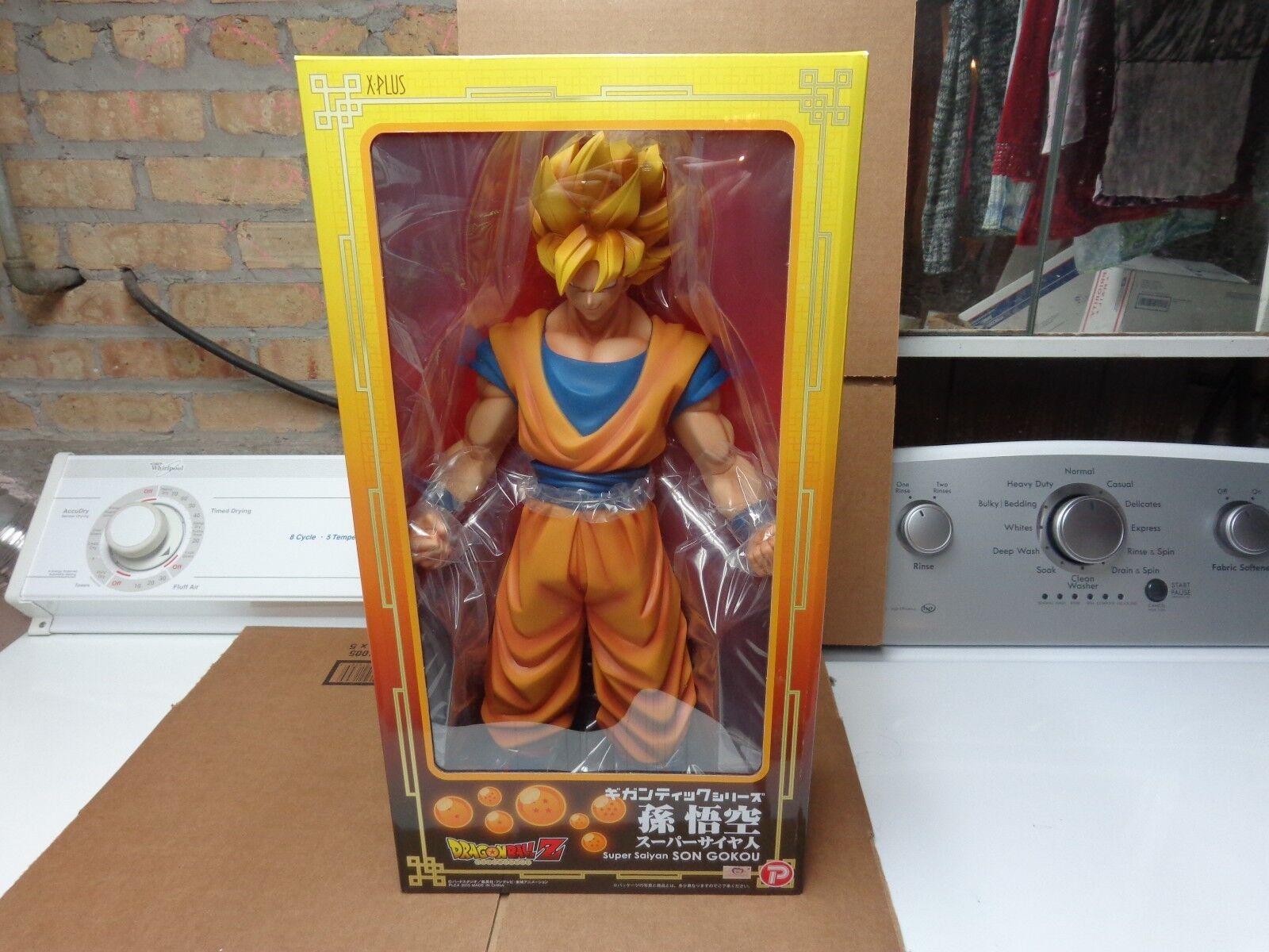 DragonBallZ Super Saiyan Son  Goku géant 18  X-Plus Japon Figure  vente d'usine en ligne discount