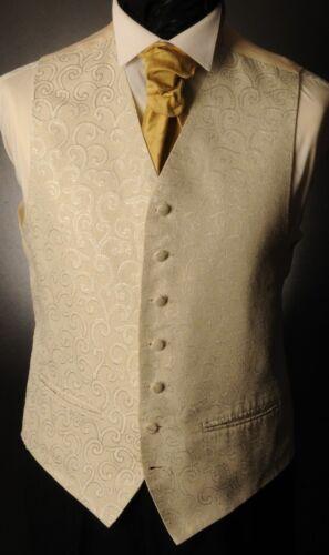 CW19 Hommes//Garçons Argent Tourbillon Gilet//robe//suit//Formal//Wedding
