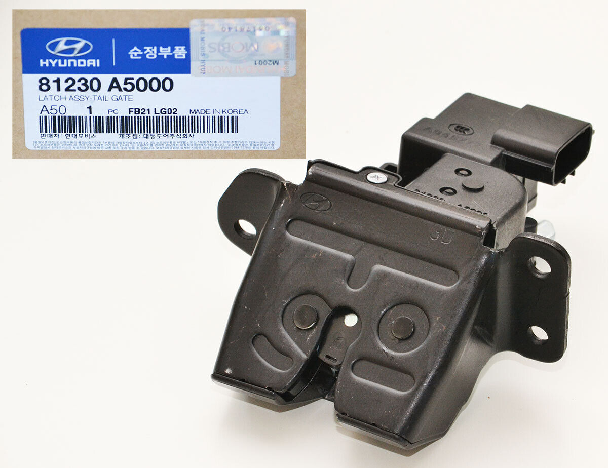 Genuine Hyundai 81230-A5000 Tail Gate Latch Assembly