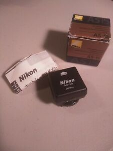 New open box Nikon AS-15 Sync Terminal Adapter Hot Shoe