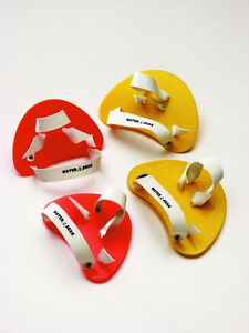 TRAINING AID FINGER PADDLES DRILL Water Gear Pool Learn to Swim SCULLING Jr/Sr