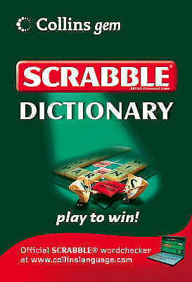 1 of 1 - Scrabble Dictionary-ExLibrary