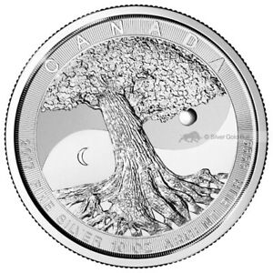 Details about 10 oz 2017 Royal Canadian Mint Tree of Life Silver Coin