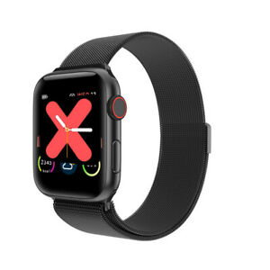 Dorado-w68-IPs-display-Bluetooth-pulsuhr-milanaise-pulsera-cierre-magnetico