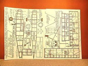1//8 Scale Pilatus PC-6 Porter Plans,Templates and Instructions 75ws