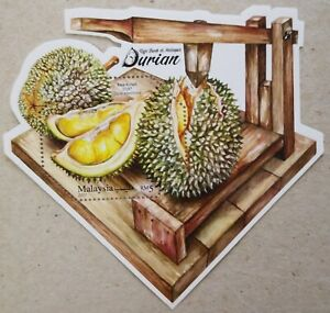 Malaysia Miniature Sheet (19.08.2021) - King of Fruits in Malaysia - Durian