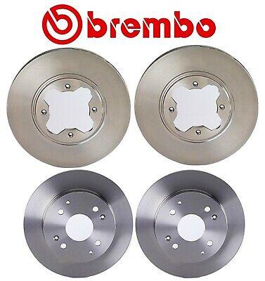 Front Disc Brake Rotors And Disc Brake Pads Brembo Kit for Honda Accord 90-97