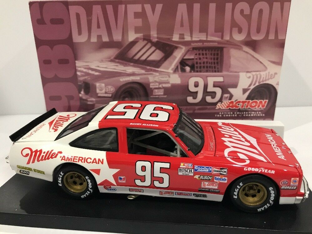 1986  95 Davey Allison Miller Nova Historical Series