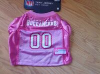 Official Nfl Jersey Football Tampa Bay Buccaneers Pink Puppy/dog Small