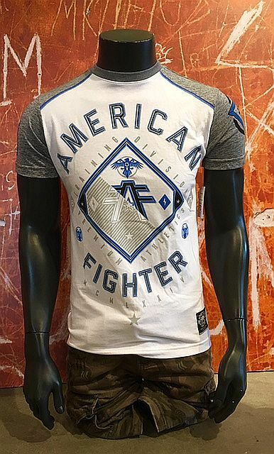ORIGINAL AMERICAN FIGHTER BY  AFFLICTION SHIRT a282   GARDNER