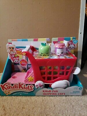 Kindi Kids Kindi Fun Shopping Cart New Unopened Box Shopkins