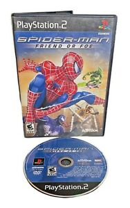 Spider-Man: Friend or Foe (Sony PlayStation 2, 2007) PS2 Game - W Manual
