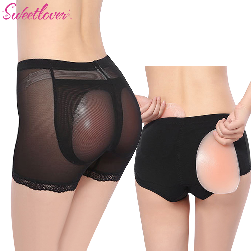 2c16bbc0ebdda Womens Silicone Buttock Hip Pads Hip Enhancer Shaper Butt Lifter Underwear  Panty