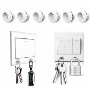 Magnetic-Keys-Holder-Wall-Mounted-Strong-Magnet-Storage-Racks-Organizer-Hanger