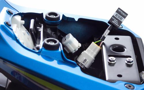 K1 Zu K8 Suzuki GSXR1000 2001 2008 Healtech Auspuff Servo Eliminator Ese