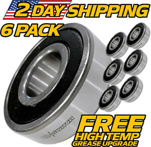 6-Pack-Great-Dane-Spindle-Bearings-D18045-200046-HEAVY-DUTY-UPGRADE