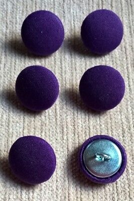 Grass Green 30L//19mm Fabric Covered Buttons Craft Sewing Upholstery