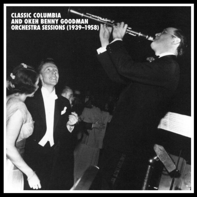BENNY GOODMAN - MOSAIC: CLASSIC COLUMBIA & OKEH ORCHESTRA SESSIONS 1939-1958 NEW