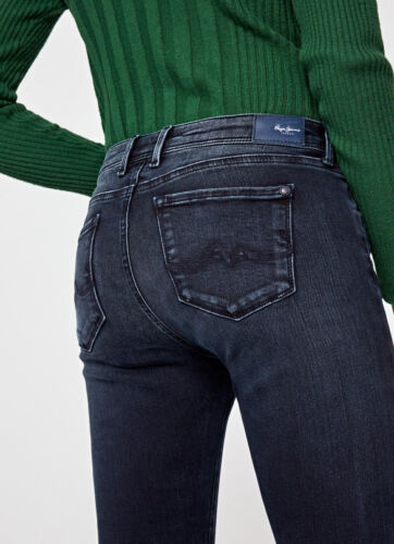 super Pepe Lola skinny coupe Jeans Damenjeans moyenne taille U1qr1tw