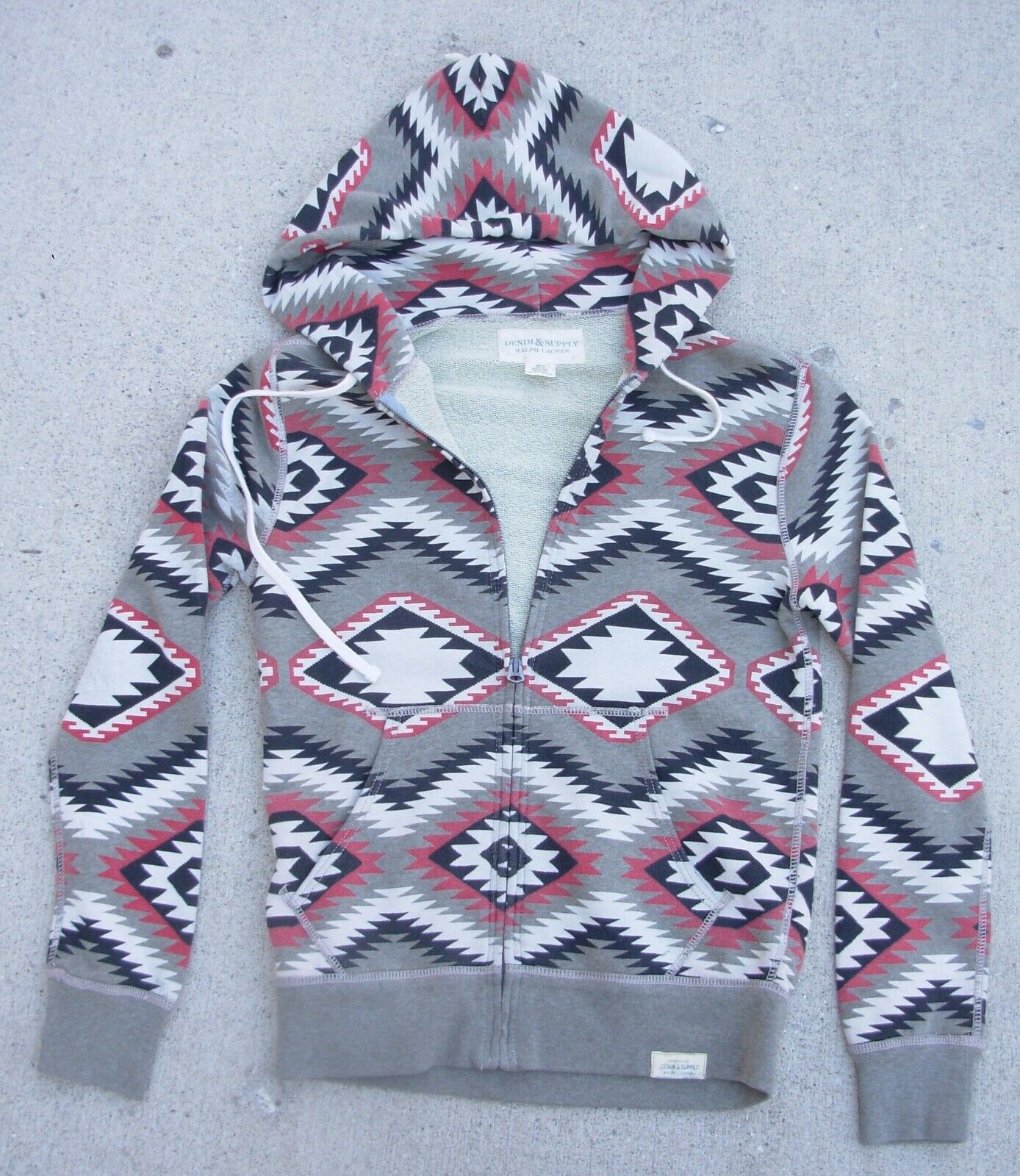 Denim & Supply Ralph Lauren Indian Blanket Print Hoodie women's size  XS
