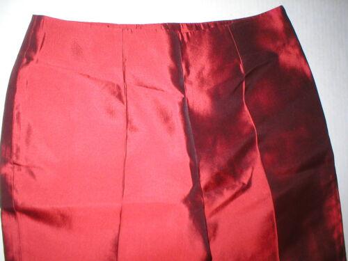 Mørk Bukser 8 Rød Silkebukser Dolce Kvinder 44 Italien Ny Nwt Gabbana Designer BSg44q