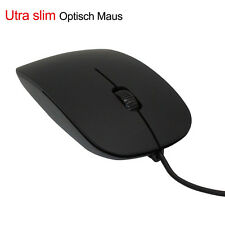 USB Wired Optisch Gaming Maus Mouse 1200 DPI PC Laptop Notebook Utraslim Mouse