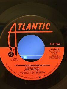 led zeppelin-communication breakdown/good times bad times mono master> 45 rpm