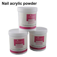1pc Jumbo Pink/White/Clear 120ml Acrylic Crystal Powder Builder Tips Decoration