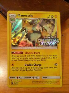 Manectric-SM130-Celestial-Storm-Prerelease-Promo-Pokemon-Card-Holo-Rare-NM