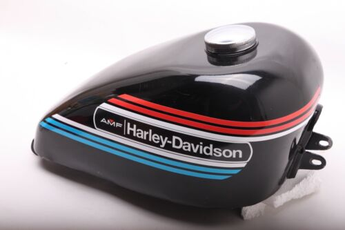 DECALS for 1974 AMF Harley-Davidson Ironhead Sportster Peanut Gas Tank XLCH XLH