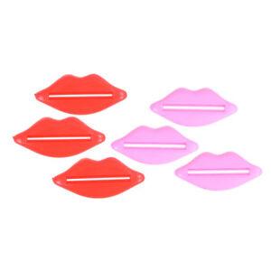 6Pcs-Lip-Kiss-Tube-Squeezer-Toothpaste-Dispenser-RSRK