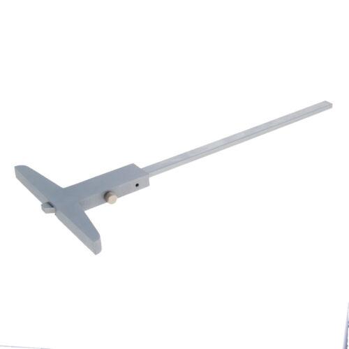 0.02mm Accuracy  Depth Caliper Ruler Gauge Measuring Tool Depth Step Measurement
