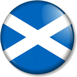 Attractive Image Is Loading Scottish Flag 25mm 1 034 Pin Button Badge