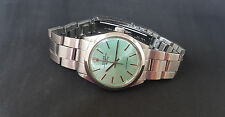 RARE VINTAGE ROLEX OYSTER PERPETUO Air-King Quadrante Verde Auto MAN's watch