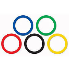 Party Supplies Birthday Olympics Commonwealth Games Sports Rings Cutouts