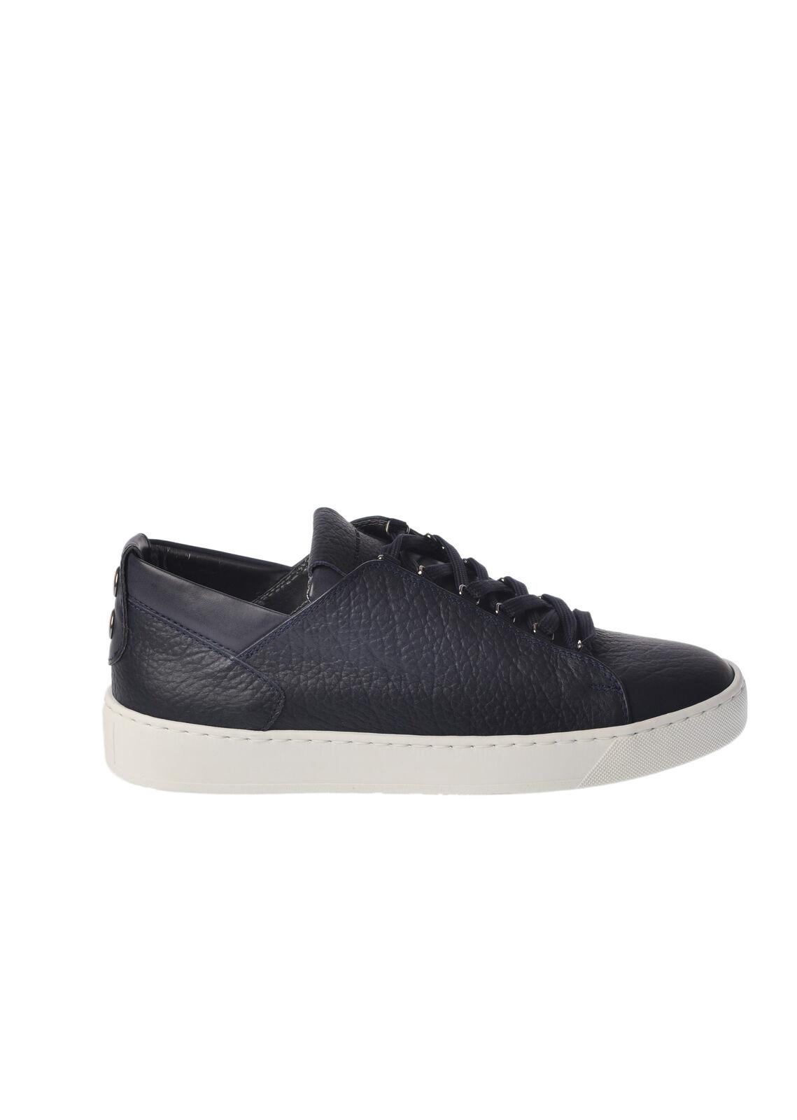 Alexander Smith - scarpe-scarpe da ginnastica low - Man - blu - 4992215G180704